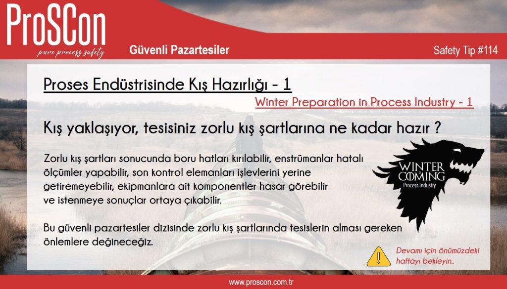 teknik yayınlar - st114 - Güvenli Pazartesiler