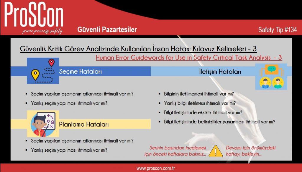 teknik yayınlar - st134 - Güvenli Pazartesiler