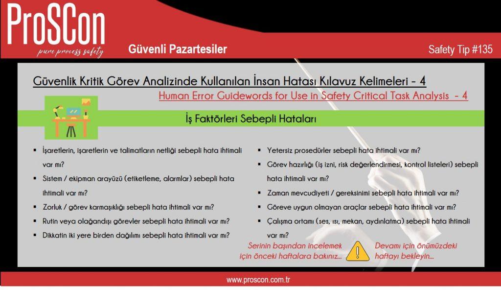 teknik yayınlar - st135 - Güvenli Pazartesiler